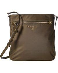 e41260c9ba98 MICHAEL Michael Kors - Nylon Kelsey Large Crossbody (black) Cross Body  Handbags - Lyst