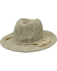 Vince Camuto - Tasseled Packable Panama Hat - Lyst