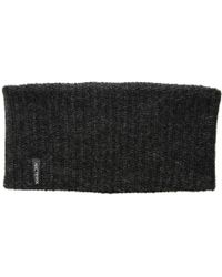 Arc'teryx Chunky Knit Headband (black Heather) Headband