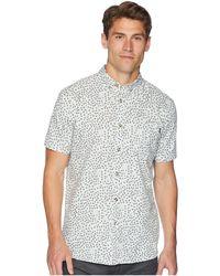 Rip Curl - El Mirador Short Sleeve Shirt - Lyst