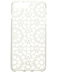 Kate Spade - Jeweled Floral Mosaic Clear Phone Case For Iphone® 7 Plus/iphone® 8 Plus - Lyst