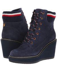 Tommy Hilfiger - Solenne (black) Women's Shoes - Lyst