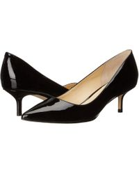 Ivanka Trump - Athyna (black Leather) Women's Shoes - Lyst