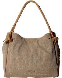 837fbb92143d MICHAEL Michael Kors - Isla Large Grab Bag (natural) Tote Handbags - Lyst