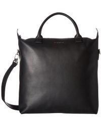 Want Les Essentiels De La Vie - Ohare Leather Shopper Tote (black) Tote Handbags - Lyst