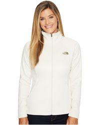 The North Face - Agave Full Zip (tnf Black Heather/mid Grey (prior Season)) Women's Sweatshirt - Lyst