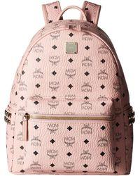 MCM - Stark Side-stud Small Medium Backpack - Lyst
