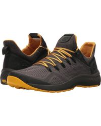 Timberland - Flyroam Trail Low (black/burgundy Fabric) Men's Lace Up Casual Shoes - Lyst
