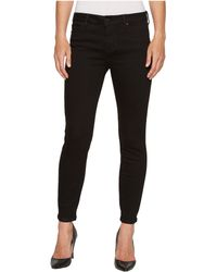 Liverpool Jeans Company - Penny Ankle Skinny 28 In Black Rinse/black (black Rinse/black) Women's Jeans - Lyst