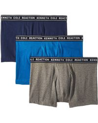 Kenneth Cole Reaction - 3-pack Basic Trunk (black/black/black) Men's Underwear - Lyst
