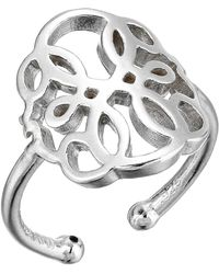 ALEX AND ANI - Path Of Life Statement Adjustable Ring - Precious Metal (14kt Gold Plated) Ring - Lyst