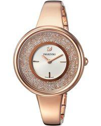 Swarovski - Crystalline Pure Watch (white) Watches - Lyst