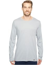 Hanro - Night And Day Long Sleeve Shirt (mineral) Men's T Shirt - Lyst