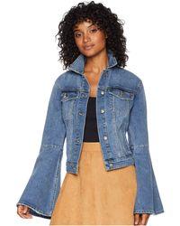 Joe's Jeans - Bell Sleeve Jacket (jaclyn) Women's Coat - Lyst