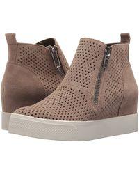 8e6db120224 Steve Madden - Wedgie-p Sneaker (black) Women s Shoes - Lyst