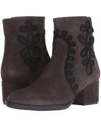 b3f8583aa2b Sesto Meucci - Fathom (black Suede) Women s Boots - Lyst