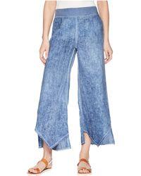 XCVI - Astri Linen Pants (military Olive Pigment) Women's Casual Pants - Lyst
