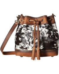 STS Ranchwear - The Classic Bucket Bag (cowhide/tornado Brown) Handbags - Lyst