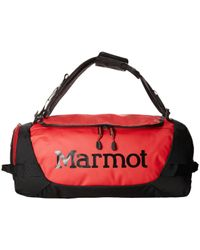 Marmot - Long Hauler Duffle Bag - Small (team Red/black) Duffel Bags - Lyst