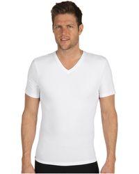 Spanx - Cotton Compression V-neck - Lyst