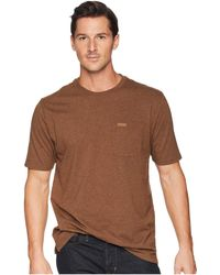 Pendleton - Short Sleeve Deschutes Pocket Tee (natural Tan Heather) Men's T Shirt - Lyst