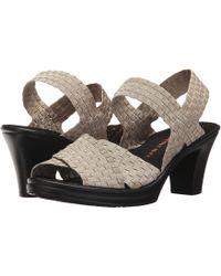 Bernie Mev - Delila (pewter) Women's 1-2 Inch Heel Shoes - Lyst