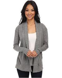 Alternative Apparel - Eco Jersey Rib Sleeve Wrap (eco True Black) Women's Sweater - Lyst