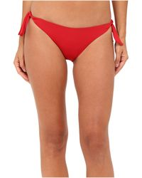 La Perla - Dunes Side-tie Bikini Bottom (red) Women's Swimwear - Lyst
