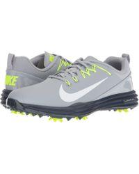 Nike - Lunar Command 2 Boa (wolf Grey/white/thunder Blue/volt) Men's Golf Shoes - Lyst