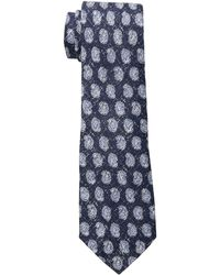 Lauren by Ralph Lauren - Printed Pine Tie (navy/blue) Ties - Lyst