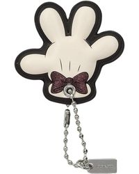COACH - Boxed Minnie Mouse Glove Hangtag (c)disney X (sv/chalk) Wallet - Lyst