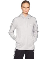adidas - Team Issue Pullover Hoodie (real Lilac) Women's Sweatshirt - Lyst