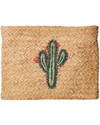 Hat Attack - Whimsical Clutch (cactus) Clutch Handbags - Lyst