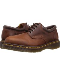 Dr. Martens - 8053 (black Nappa Leather) Lace Up Casual Shoes - Lyst