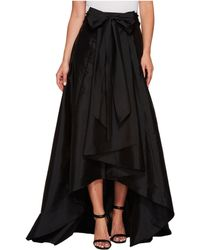 Adrianna Papell - High-low Ball Skirt (black) Women's Skirt - Lyst