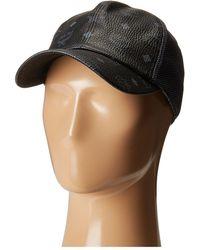 c47f5bc6598 Lyst - Mcm Visetos Cap - Vintage in Black for Men
