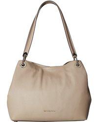 MICHAEL Michael Kors - Raven Large Shoulder Tote (butternut) Tote Handbags - Lyst