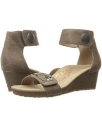 Aetrex - Becca Ankle Strap Wedge - Lyst