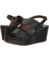 Olukai - Keha (dark Java/dark Java) Women's Wedge Shoes - Lyst