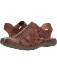 Born - Justice (tan Full Grain Leather) Men's Sandals - Lyst