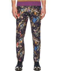 Etro - All Over Print Pants - Lyst
