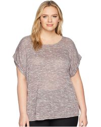 B Collection By Bobeau - Plus Size Mia Sweater Knit Tee - Lyst