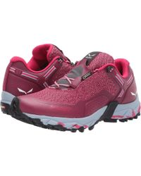 Salewa - Speed Beat Gtx (shaded Spruce/fluo Coral) Women's Shoes - Lyst