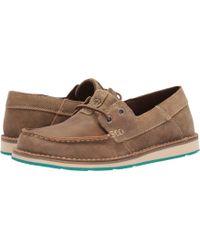 Ariat - Cruiser Castaway (team Navy) Women's Slip On Shoes - Lyst