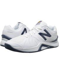 New Balance - Mc1296v2 (white/blue) Men's Tennis Shoes - Lyst
