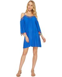 Nanette Lepore - Cha Cha Cha Off The Shoulder Dress Cover-up - Lyst