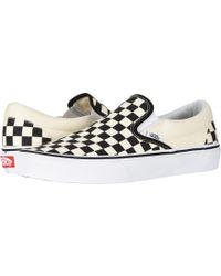 dd069affb7 Vans - Classic Slip-ontm Core Classics (true White (canvas)) Shoes