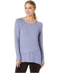 Aventura Clothing - Leslie Long Sleeve Shirt (blue Ice) Women's Long Sleeve Pullover - Lyst
