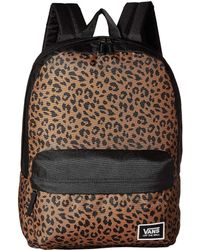 c4b46f52bc Vans - Realm Classic Backpack (fairy Tale Checkerboard) Backpack Bags - Lyst