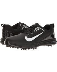de3767a9ffe72 Nike - Lunar Command 2 (black white black) Men s Golf Shoes -